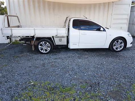 ford falcon fg xr ute  white  vehicle sales