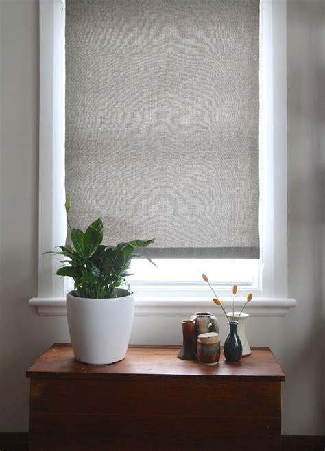 stylish diy roman shades     windows