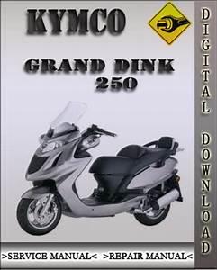 Kymco Grand Dink 250 Factory Service Repair Manual