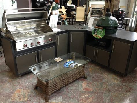 sustainable kitchen cabinets lbge table design with companion gas grill big green 2624