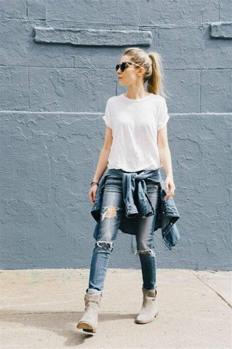 Girl mine fashion jeans style street style Model outfit urban amazing Denim look streetwear ...