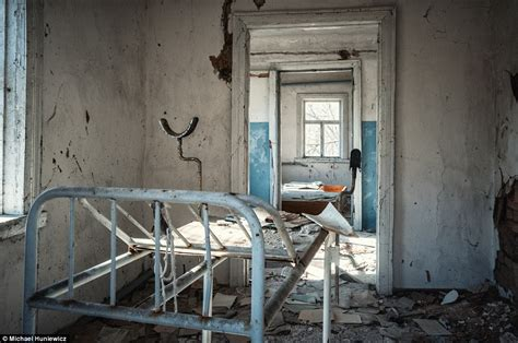 Shortly after the accident, firefighters arrived to try to extinguish the. Chernobyl disaster site toured in Michael Huniewicz's ...