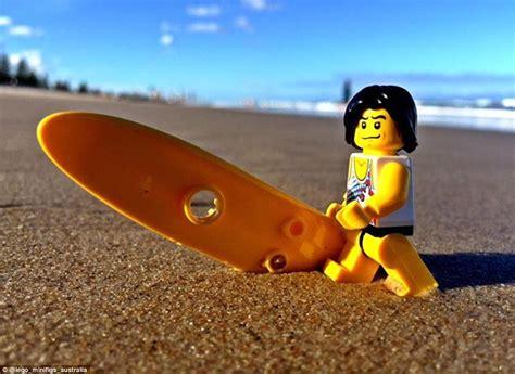 Matt Green's Instagram Account Captures Lego Human-like