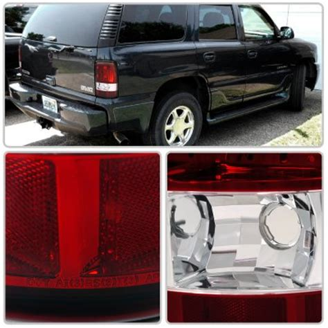 2002 chevy tahoe tail lights chevy tahoe 2000 2006 red and clear tail lights