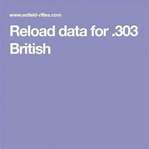 Reload Data For  303 British