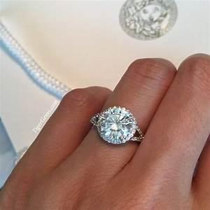 3 carat engagement ring halo rings With 3 carat wedding ring
