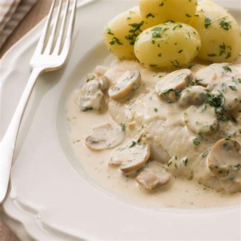 cuisiner les patissons blancs recette poisson blanc aux chignons à la crème