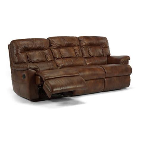 flexsteel leather reclining sofa flexsteel 1221 62 great escape leather double reclining