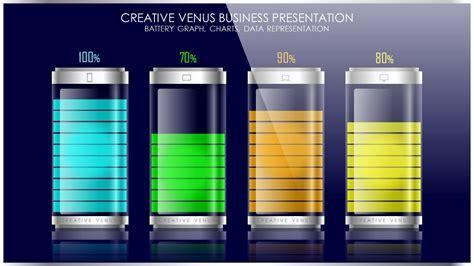 create battery vector data chart graph  microsoft