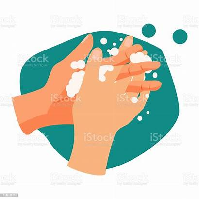 Hands Washing Handwashing Coronavirus Lavage Mains Bank
