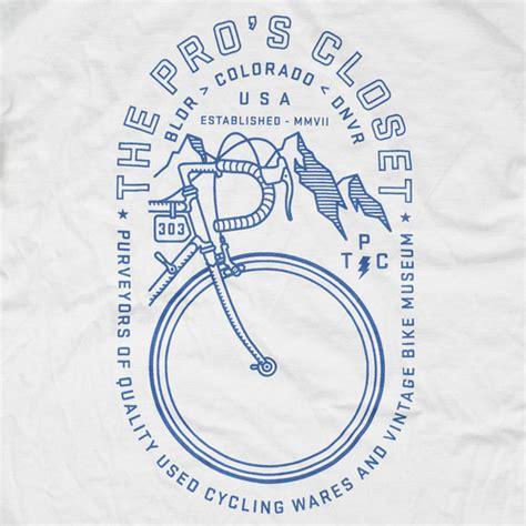 the pros closet ss bike shop shirt large boulder denver