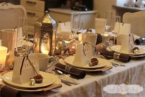 Tischdekoration Zu Weihnachten : tischdeko weihnachten braun ~ Michelbontemps.com Haus und Dekorationen