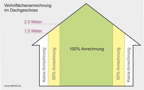 Wohnfläche Berechnen Dachschräge by Berechnung Der Wohnfl 228 Che Nach Der Wohnfl 228 Chenverordnung