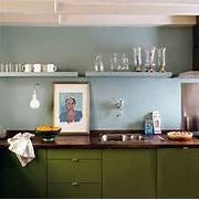 Kitchen Colors Olive Green Amp Light Blue  Kitchen Inspiration  The Kitchn