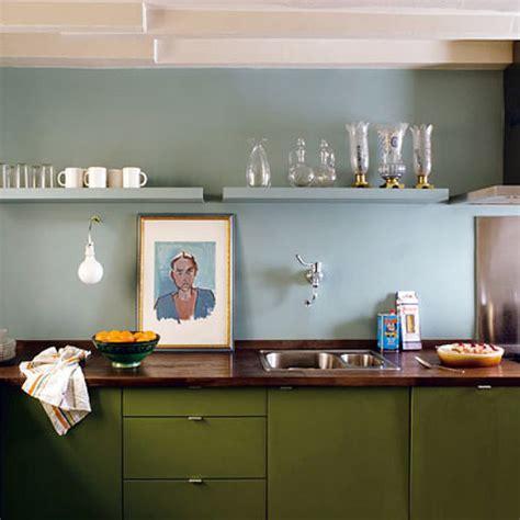 kitchen colors olive green light blue kitchen
