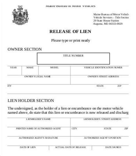 lien release letter lien release form 8 free word pdf documents