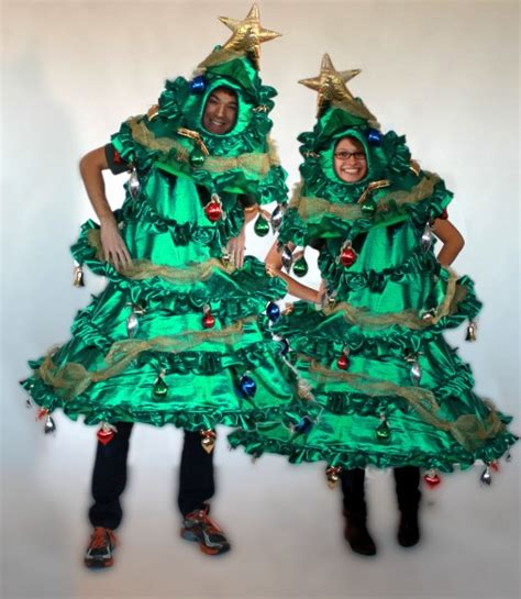 christmas tree costumes with dazzle