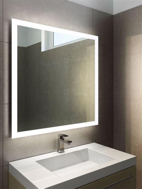 halo led bathroom mirror