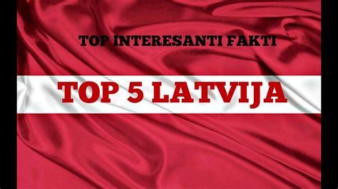 TOP 5 interesanti fakti - Latvija - YouTube