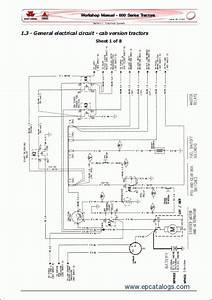 Massey Ferguson Tractors 600 Series Repair Manual Download