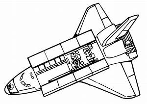 Space Shuttle Coloring Pages | Clipart Panda - Free ...