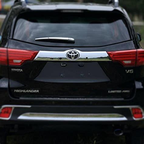 vesul chrome rear trunk lid tailgate door cover trim