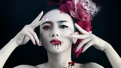 Vampire Gothic Female Wallpapers 4k Fantasy Blood