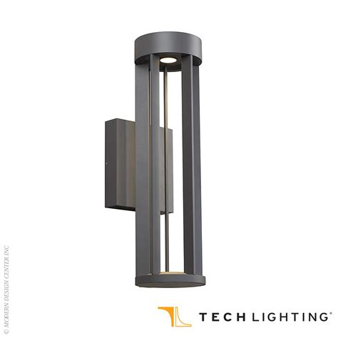 turbo led outdoor wall sconce tech lighting at