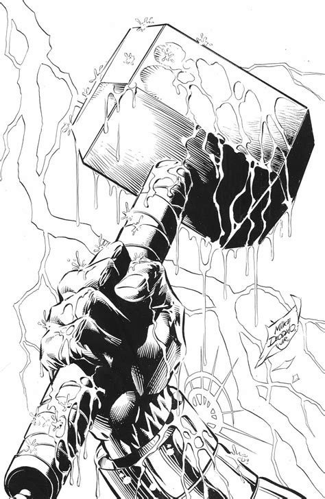 Mjolnir.   Thor hammer tattoo, Thor tattoo, Hammer tattoo
