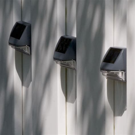 solar wall lights 4 pack smart solar