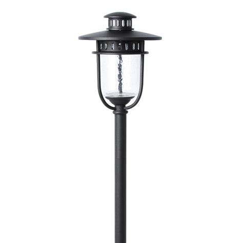 low voltage path lights shop portfolio specialty bronze low voltage 3 5 watt 20 w