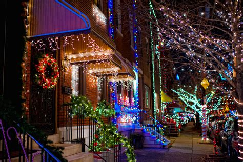 the top places to view holiday lights in philadelphia for