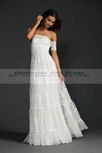 bohemian style wedding dress boho hippie wedding dresses With boho chic plus size wedding dresses