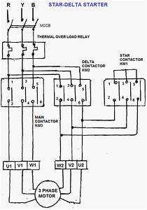 Star-delta Three Phase Motor Starter
