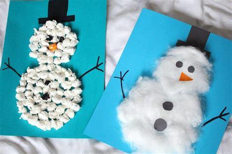 winter basteln mit kindern unter 3 basteln mit kindern 3 winter diy schneemann ideen kinder kindergarten winter basteln