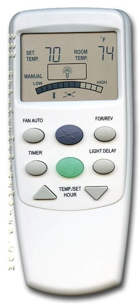 hton bay ceiling fan remote replacement buy hton bay fan 9t fan9t rev thermostatic without