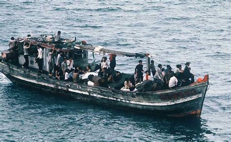 Overcrowded Refugee Boat by Saving The World One Life At A Time New Matilda