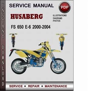 Husaberg Fs 650 E 6 2000 2004 Service Repair Manual Download