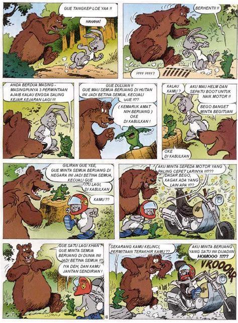 Si Beruang Dan Si Kelinci Ck Stuff