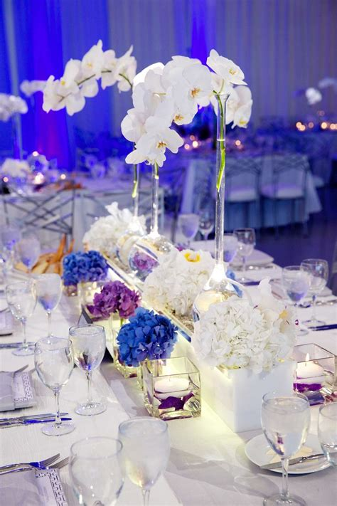 1000 Ideas About Blue Orchid Centerpieces On Pinterest