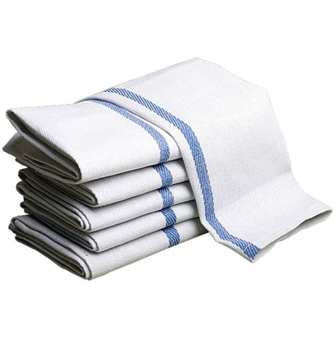 Kitchen Towels by Herringbone Center Striped Kitchen Towels