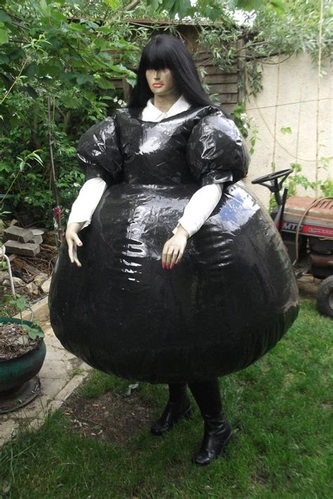 inflatable tpu maids dress  puncturegown structures