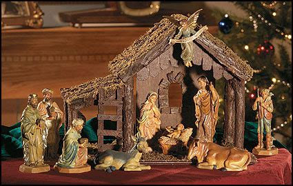 jesus christmas crib statue set buy it is finished