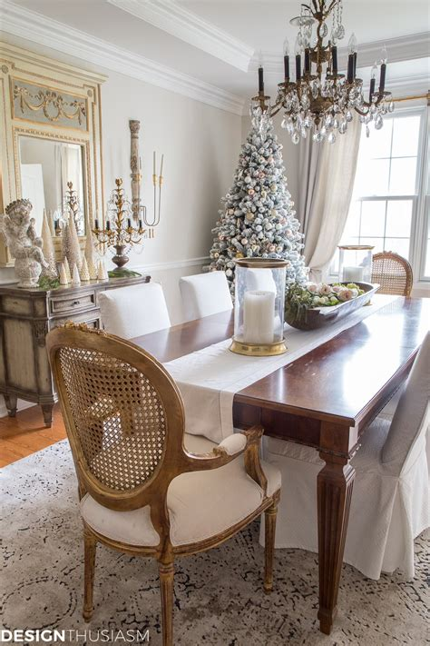 elegant holiday decorating ideas   dining room