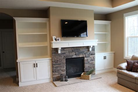 built in place diy built in entertainment center with fireplace endbillcollections com