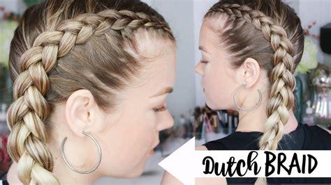 dutch braid braiding  youtube