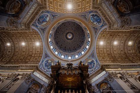 Cupola Bernini by Basilica Di San Pietro In Vaticano Fotografie Italiane
