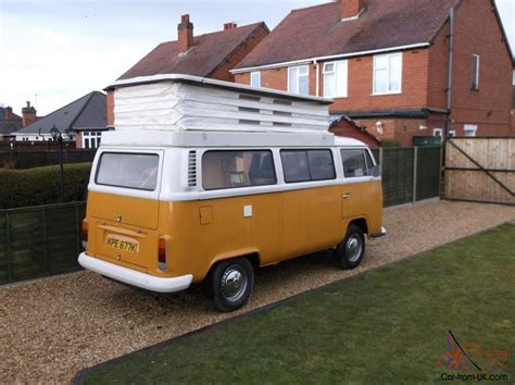 Vw Bay Window Camper Van Type 2 1972 Minor Work Required