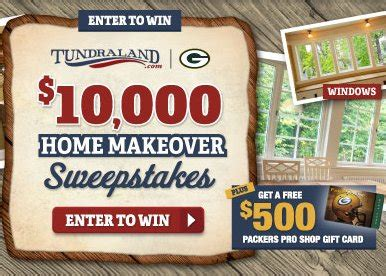 Home Improvement Sweepstakes Wwwallaboutyouthnet