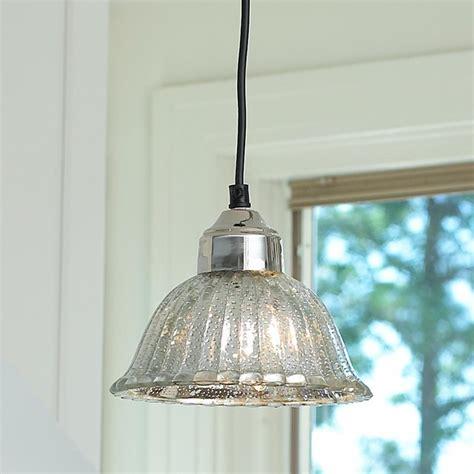 mercury glass pendant light fluted mercury glass bell pendant pendant lighting by